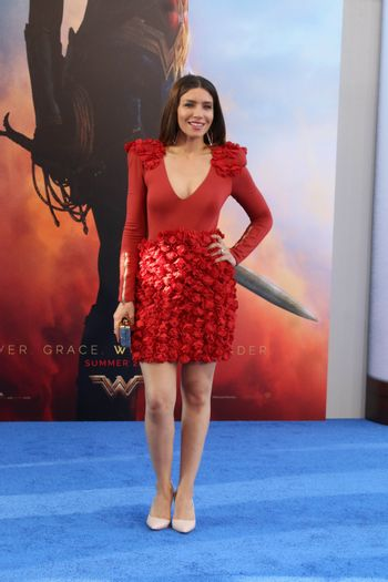 "Juliana Harkavy at the ""Wonder Woman"" Premiere, Pantages, Hollywood, CA 05-25-17"