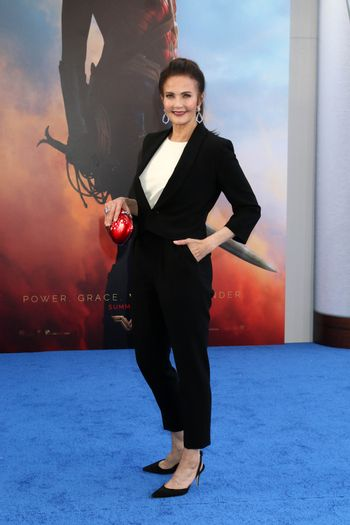 "Lynda Carter at the ""Wonder Woman"" Premiere, Pantages, Hollywood, CA 05-25-17"