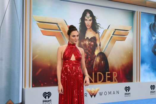 """Gal Gadot at the """"Wonder Woman"""" Premiere, Pantages, Hollywood, CA 05-25-17"""