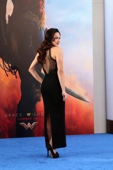 """Samantha Jo at the """"Wonder Woman"""" Premiere, Pantages, Hollywood, CA 05-25-17"""