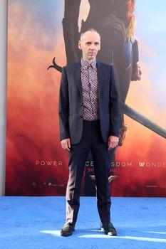 """Ewen Bremner at the """"Wonder Woman"""" Premiere, Pantages, Hollywood, CA 05-25-17"""