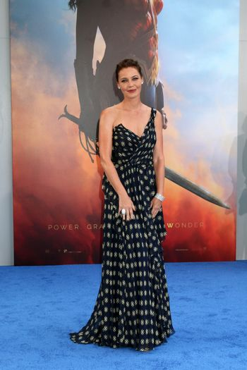 """Connie Nielsen at the """"Wonder Woman"""" Premiere, Pantages, Hollywood, CA 05-25-17"""