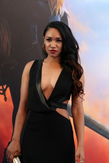 """Candice Patton at the """"Wonder Woman"""" Premiere, Pantages, Hollywood, CA 05-25-17"""