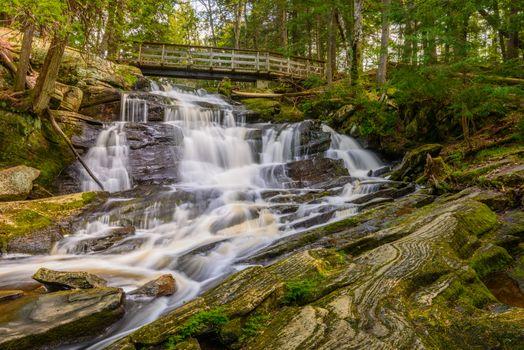 Potts Falls Muskoka Canada