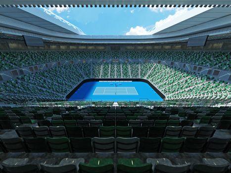 Beautiful modern tennis grand slam lookalike stadium in Australia