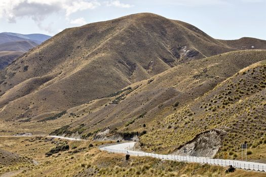 Lindis Pass New Zealand