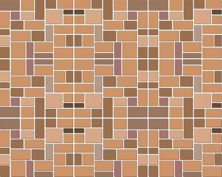 modern style of wall block