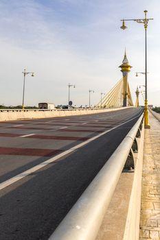 Bridge in Nonthaburi Thailand