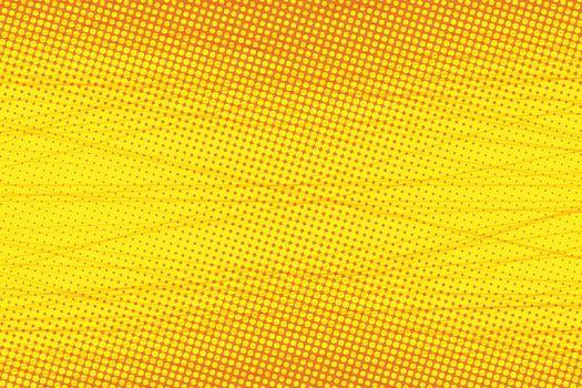 yellow Scratch touches pop art background