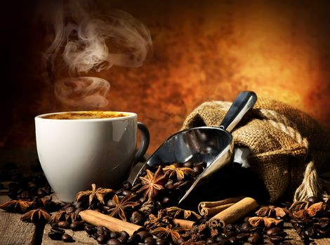 Tasty hot coffee