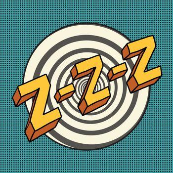 Zzz sound sleep and zumm