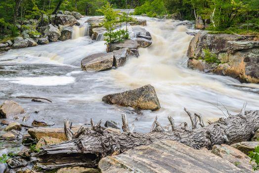 Lower Rosseau Falls