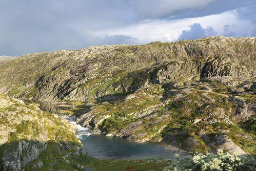 The Saudavegen route