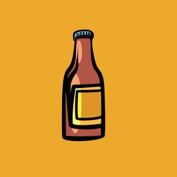 mockup sauce bottle