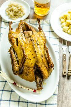 Roast duck, th