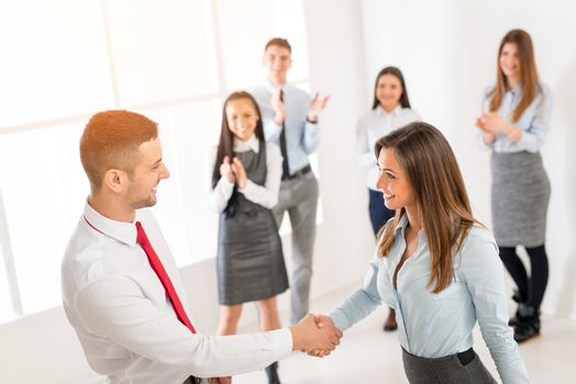 Successful Business Agreement