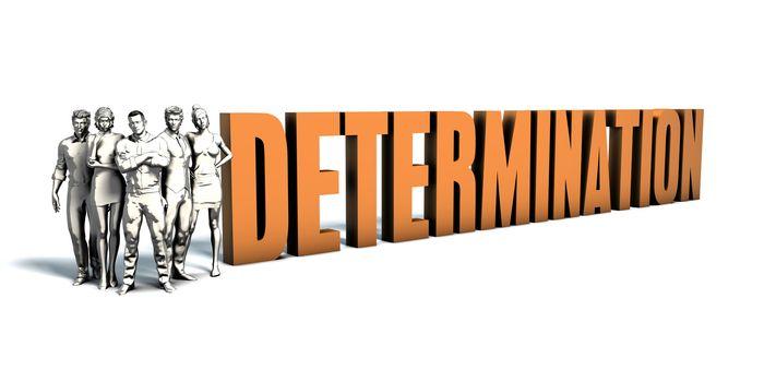 Business People Determination Art