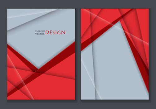 colorful annual report templates