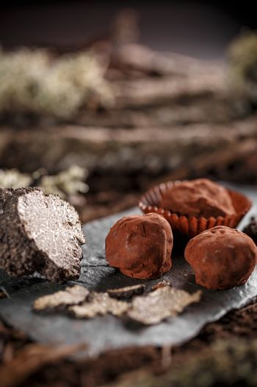 Balls of truffles