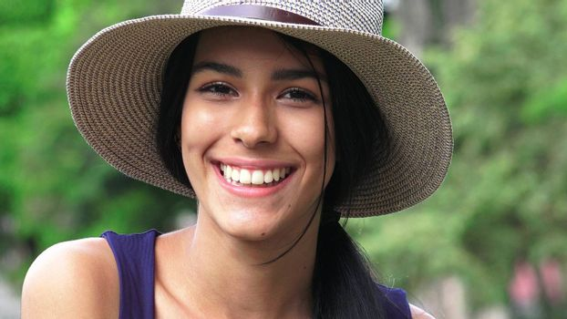 Smiling Face Of Beautiful Girl