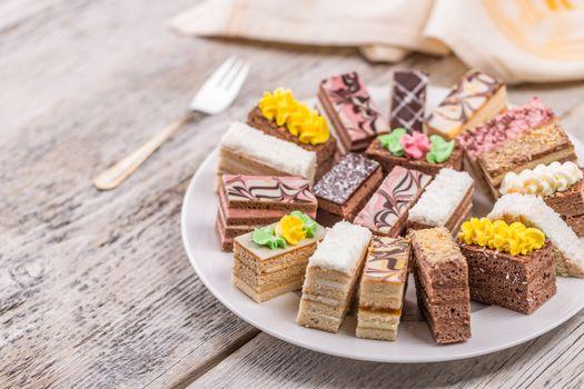Layered pastries