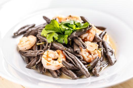 Plate of sea food