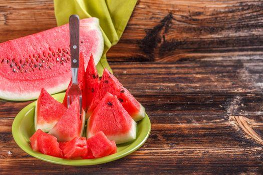 Watermelon triangle