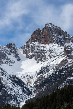 Red Mountain near Cortina d'Ampezzo