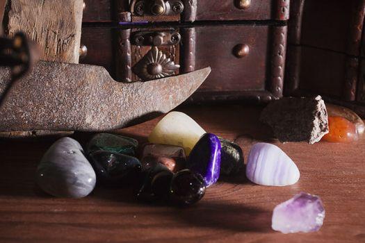 Precious stones and minerals