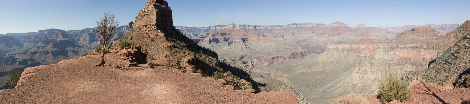 South Kaibob Trail panorama in Grand Canyon National Park, AZ