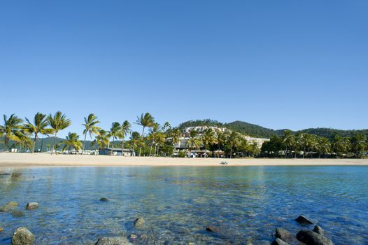 Tranquil view of Airlie Beach, Queensland
