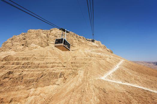 Messada fortress in israel