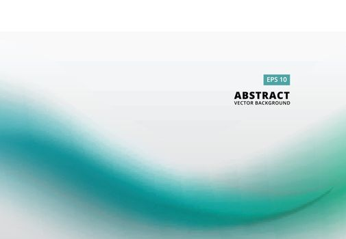 Abstract template picture with green embossed pattern vector background copy space