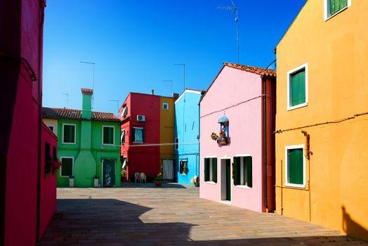 Houses of Burano
