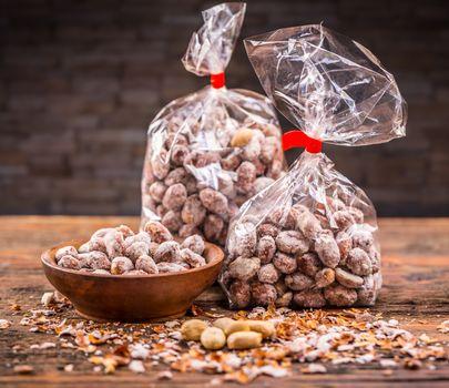 Peanut product shot