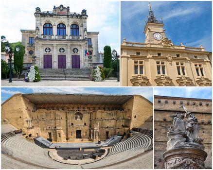 monuments of Orange, France