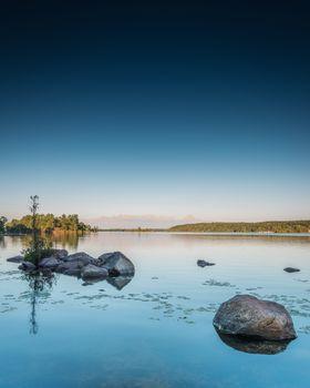Lower Buckhorn Lake Sunset Portrait