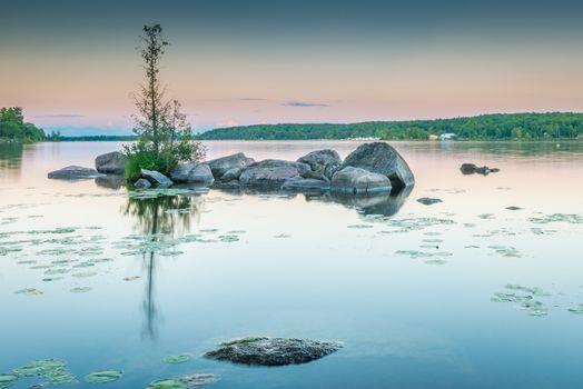 Lower Buckhorn Lake Sunset