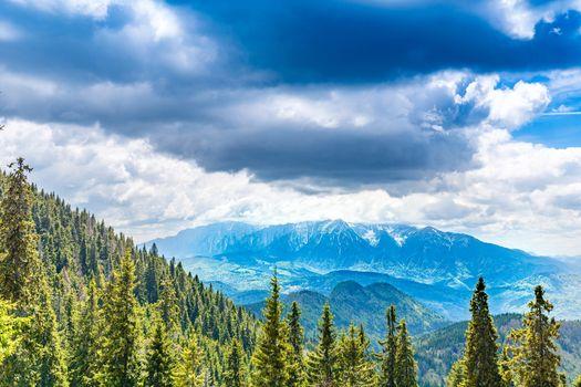 Bucegi mountains range