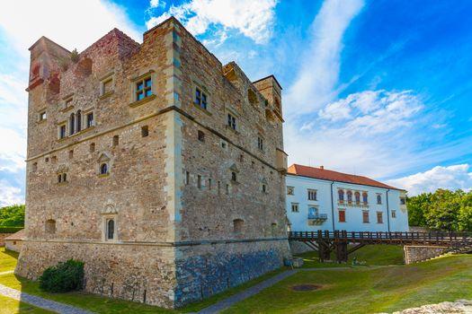 Medieval stone castle