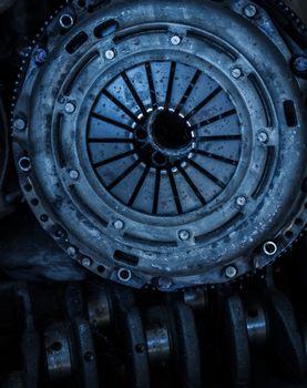 Car clutch disk