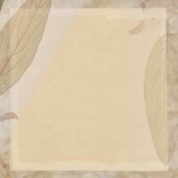 La seppia di sfondo chiude il materiale della tela di canapa fatta a mano With transparent teeth