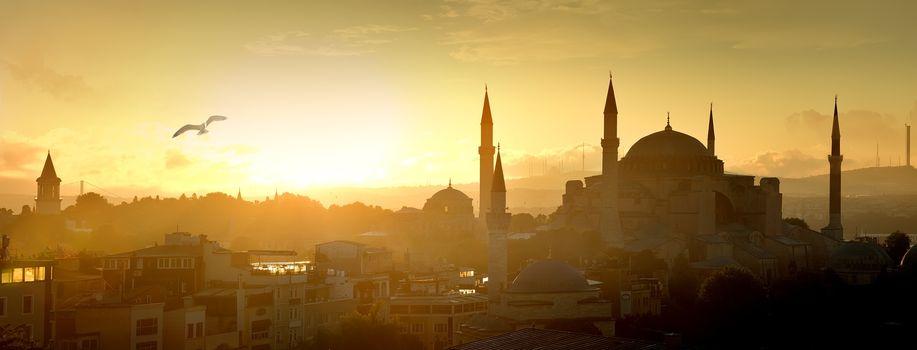 Hagia Sophia at sunrise
