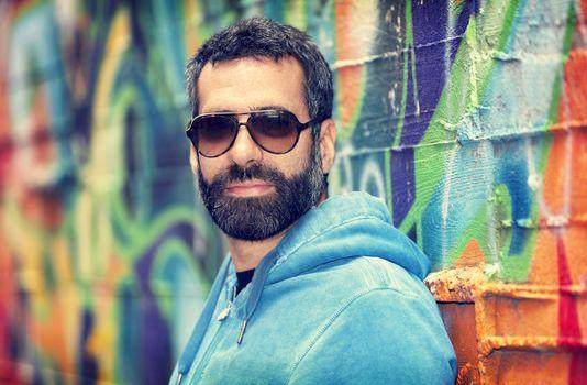 Handsome man portrait