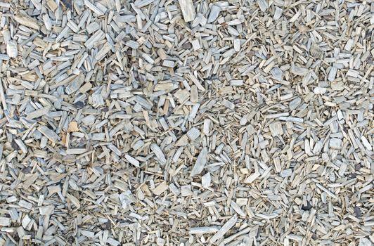 Wooden chips, bark mulch