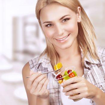 Enjoying healthy nutrition