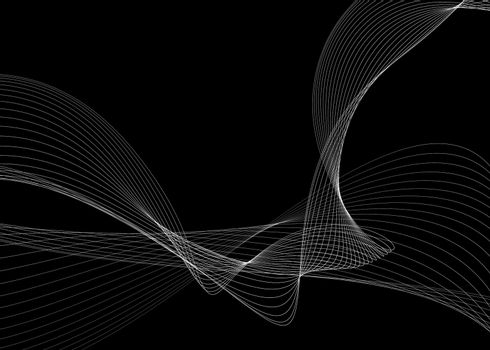 abstract background with curve lines