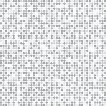 Abstract stripe gray and white random dots digital technology halftone background vector