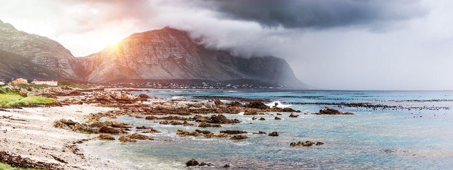 Beautiful landscape of Betty's Bay
