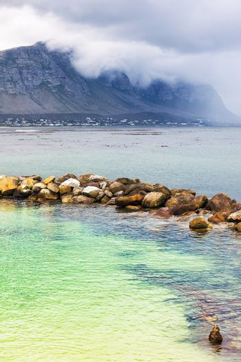 Amazing view on the Betty's Bay